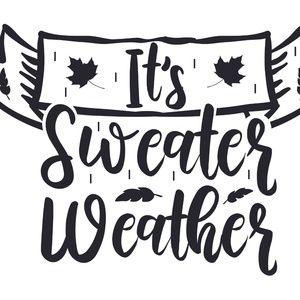 Sweaters! Warm Fuzzy Sweaters!